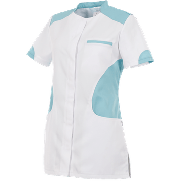 Alsico Zorgjas Ronda Wit/lichtblauw