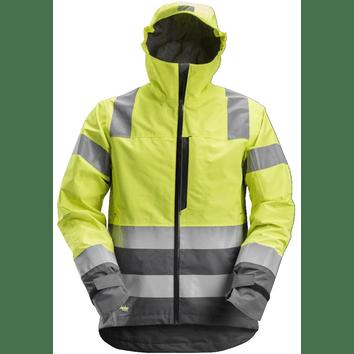 Snickers 1330 AllroundWork, High-Vis Waterproof Shell Jack Klasse 3