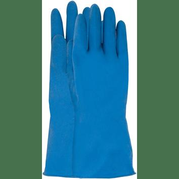 Latex werkhandschoen blauw