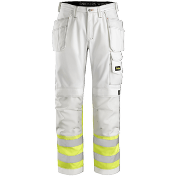Snickers 3234 High-Vis Painters HP Trousers, Class 1