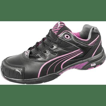 Puma Stepper Wns  S3 Werkschoen Zwart/Paars