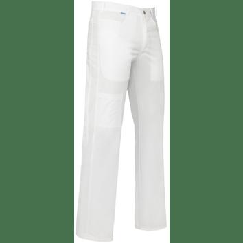 De Berkel herenpantalon Max wit