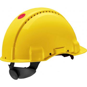 3M Peltor 6300N: extra ventilerende veiligheidshelm met 180° omkeerbaar binnenwerk (geel)