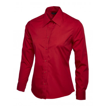 Overhemd Poplin Uneek Uc711 DamesProforto nl WED9IYH2