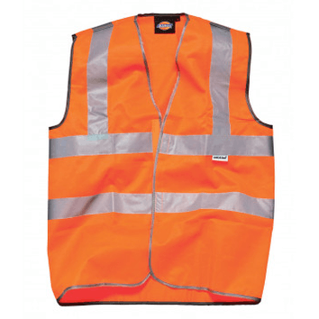 Dickies Highway Safety Vest (Oranje)