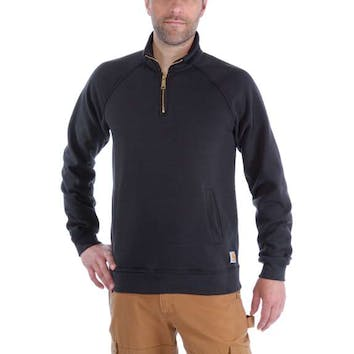 Carhartt Quarter-Zip Mock-Neck Sweatshirt K503