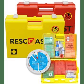 EHBO koffer Resc-Q-assist Q25 geel