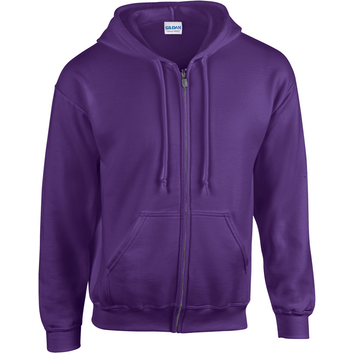 Gildan Hood Full Zip Comfort Fit Heren Sweater