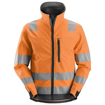 Snickers 1230 AllroundWork High- Vis Softshell Jack